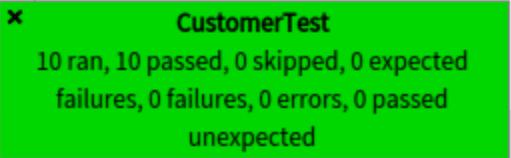 Tests passing